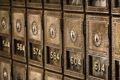 Bank Safety Deposit Boxes